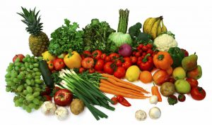 Vibrant Fruits and Veggies