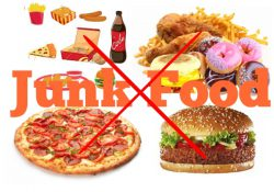 Eat Less Junk Food!