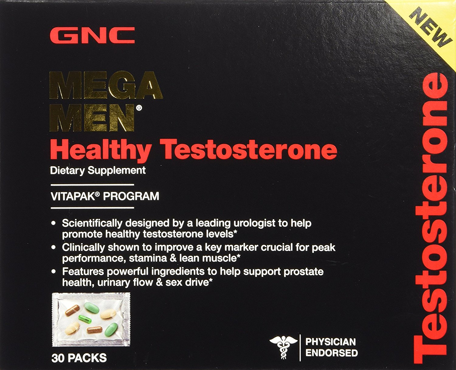 GNC Mega Men Healthy Testosterone