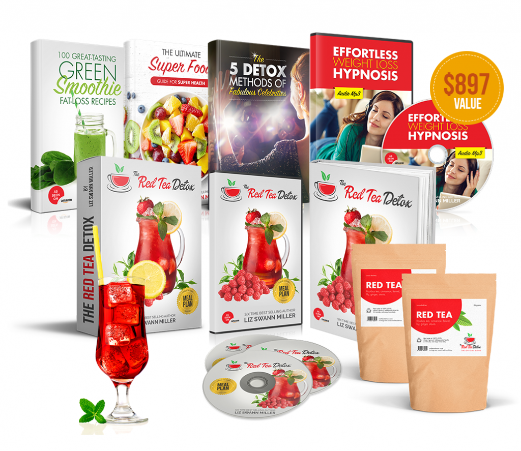 red tea products and bonuses