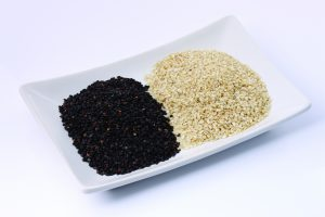 Flax and Sesame seeds