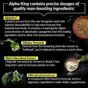 Alpha King Ingredients Description