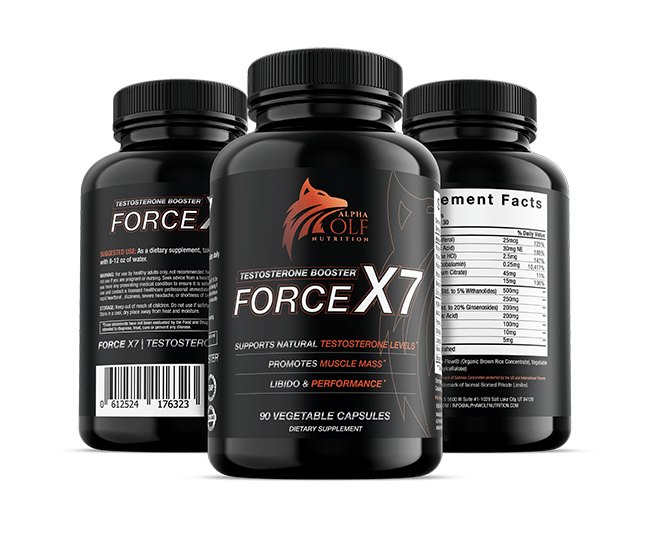 Force X7 Three Bottles