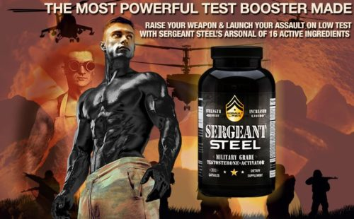 #1 Military Testosterone Booster