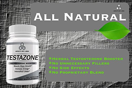 All Natural Testazone - No Side Effects