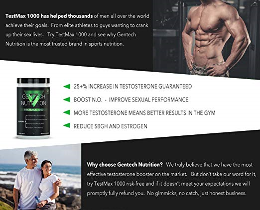 Extreme Testosterone Booster - TestMax 1000