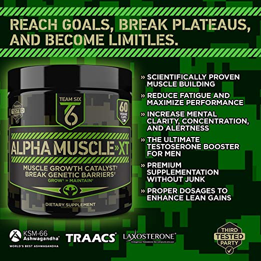 Team Six Supplements Alpha Muscle-XT Benefits