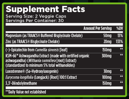 AlphaMuscleXT Ingredients
