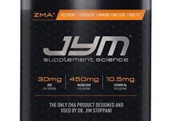JYM ZMA Ingredients