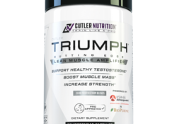 Triumph Test Booster Bottle